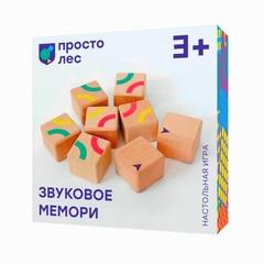 Настольная игра Звуковое Мемори упаковка