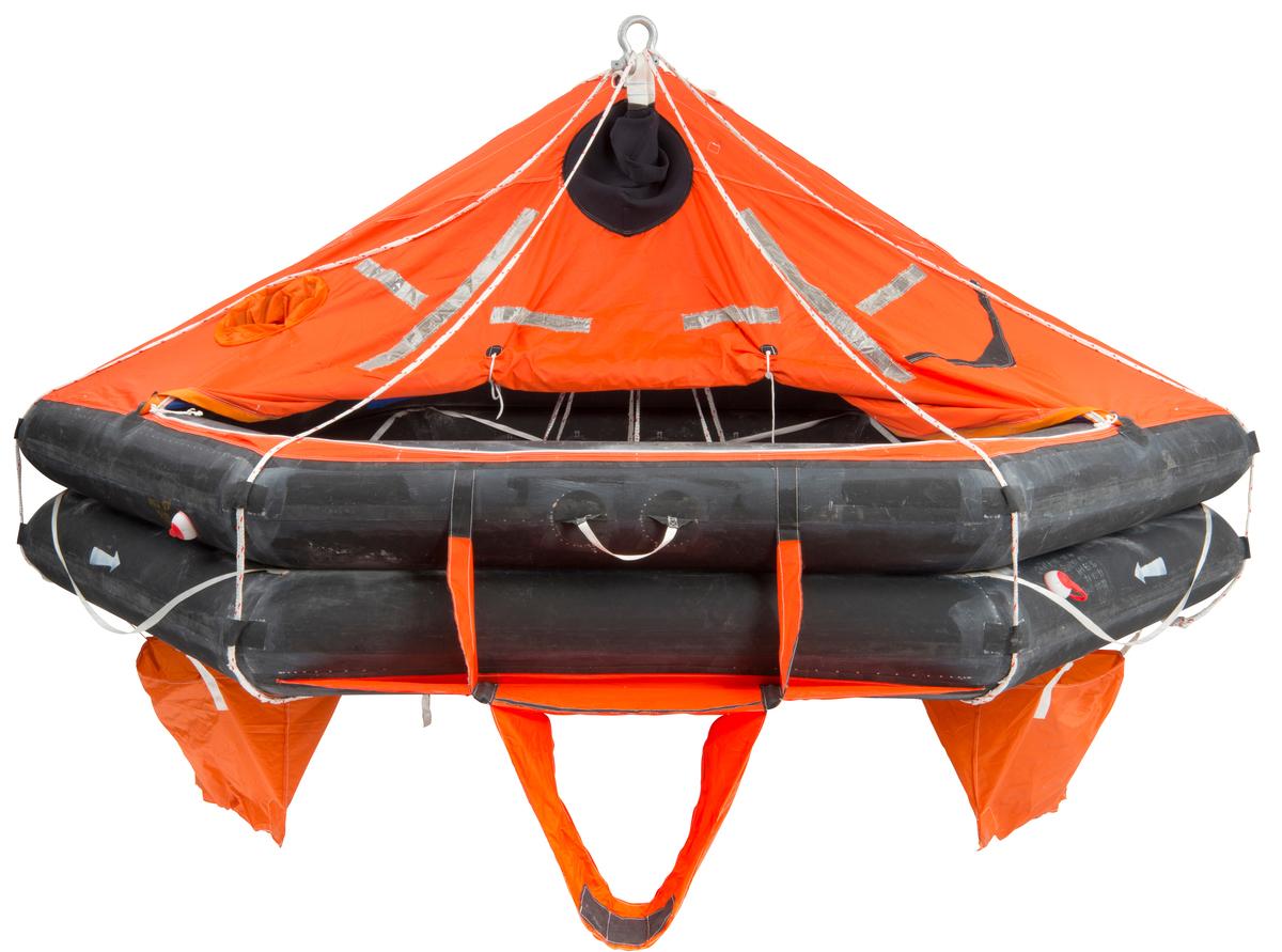 Liferaft - VIKING, 16DKF+, davit launched (16 pers.)