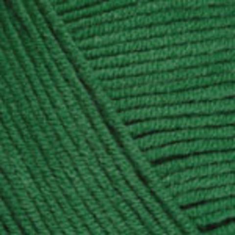 Пряжа YarnArt Jeans 52 ярко-зеленый