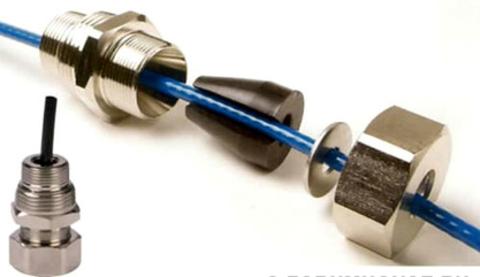 Муфта для ввода кабеля в трубу 1/2 для саморегулирующийся нагревательных кабелей.