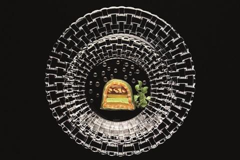 Набор из 2-х тарелок для хлеба и масла, артикул 98043. Серия Bossa Nova