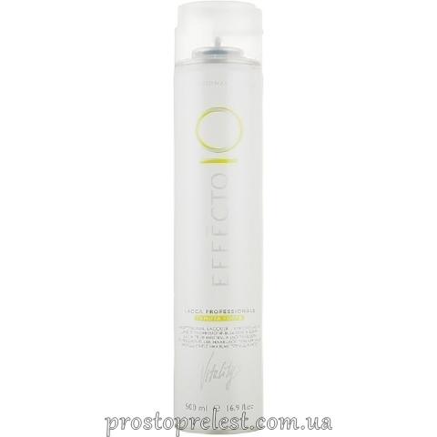 Vitality's Effecto Professional Lacquer Strong Hold - Лак для волосся професійний сильної фіксації