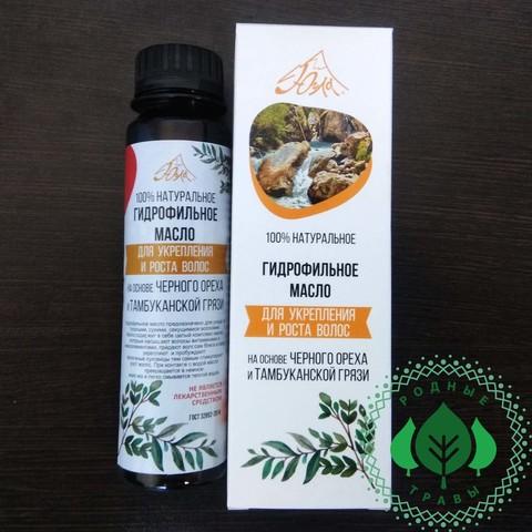 Гидрофильное масло Для укрепления и роста волос