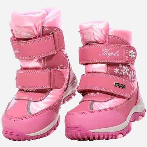 Мембрана, зима, Kapika снежная зима, розовый (ТРК ГагаринПарк)
