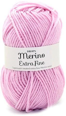 Пряжа Drops Merino Extra Fine 16 светло-розовый