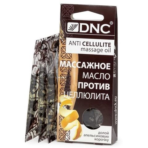 DNC Масло массажное против целлюлита 3х15мл