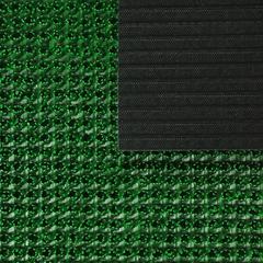 Коврик ТРАВКА зеленый, на противоскользящей основе, 45*60 см