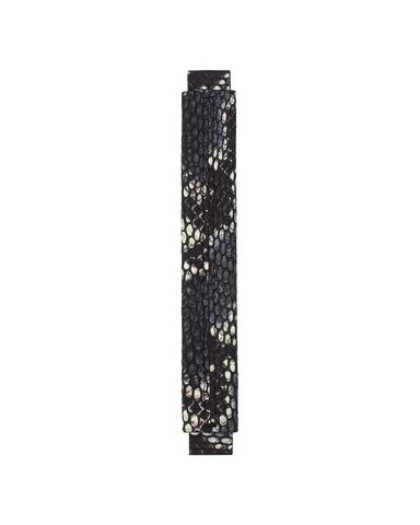 Сменная ручка сине-черного цвета с принтом питона