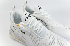 кроссовки Nike Air Max 270 x Off-White Triple White