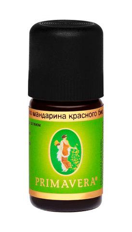 PRIMAVERA LIFE Эфирное масло мандарина красного био, 5мл