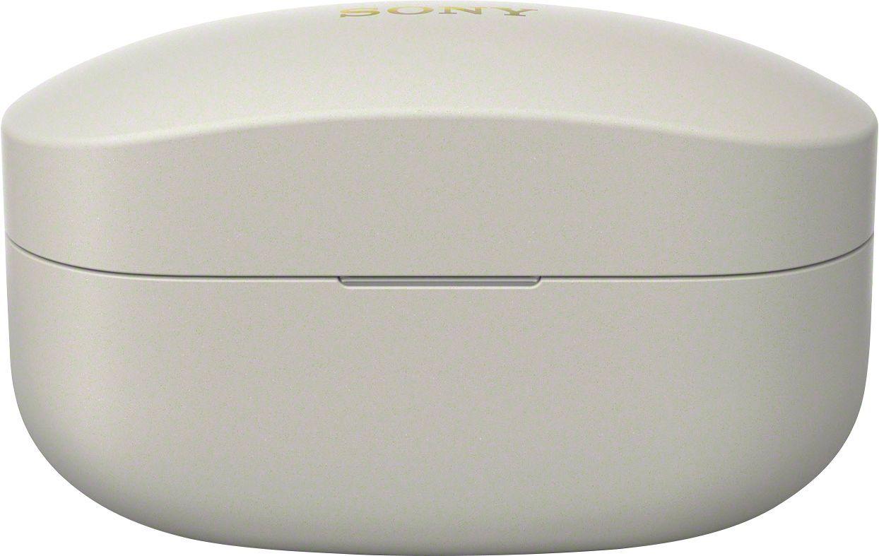 Чехол для наушников Sony WF-1000XM4S серебристого цвета