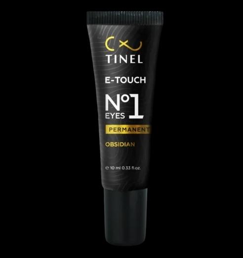 """Пигмент для век Tinel E-touch 1 """"Обсидиан"""" 10мл"""