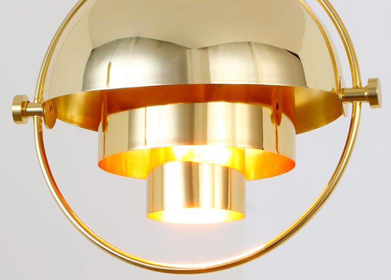 Подвесной светильник копия Multi-Lite by Gubi (черный)