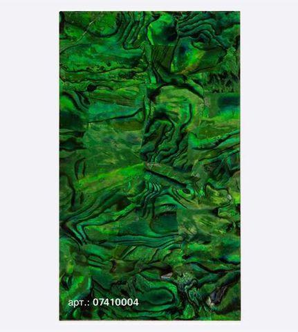 Ракушка раскатанная, изумруд 07410004