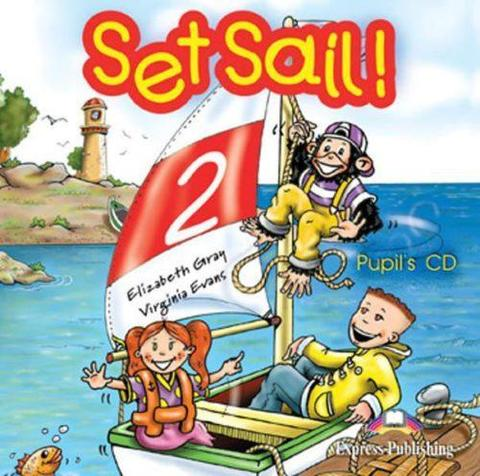 Set Sail 2. Pupil's Audio CD. Beginner. Аудио CD для работы дома