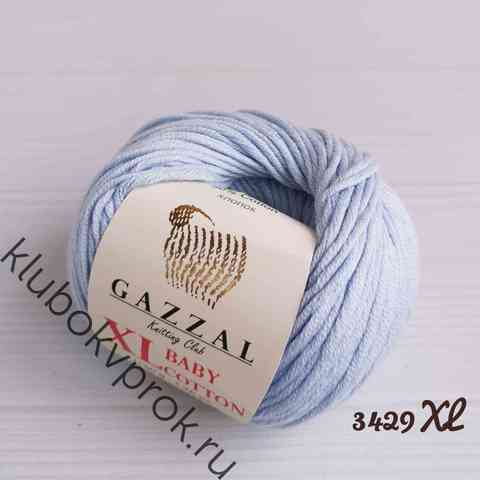 GAZZAL BABY COTTON XL 3429XL, Голубой
