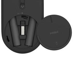 Беспроводная мышь Xiaomi MIIIW Dual Mode Portable Mouse Lite Black (MWPM01) черный