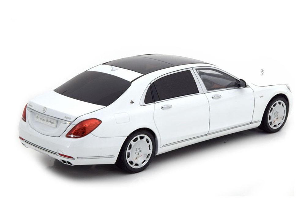 Коллекционная модель Mercedes-Benz MAYBACH X222 S-CLASS 2016 WHITE