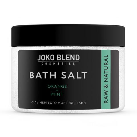 Сіль Мертвого моря для ванн Апельсин-М'ята Joko Blend 300 гр (1)