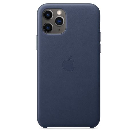 Чехол iPhone 11 good Leather Case /midnight blue/