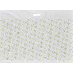Пакет полиэтиленовый Знак Качества 60x80 см с рисунком и вырубной ручкой (20 штук в упаковке)