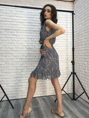 Платье шифон без рукавов купить