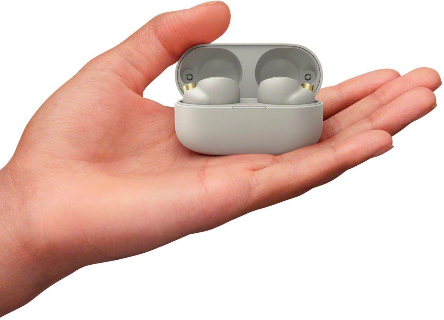 True Wireless наушники WF-1000XM4S серебристые в чехле