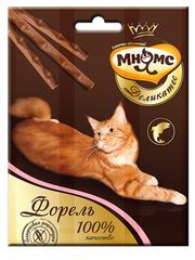 Лакомые палочки 9 см для кошек Мнямс Деликатес с форелью