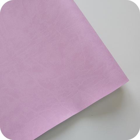 Кожзам переплетный матовый, розово-сиреневый