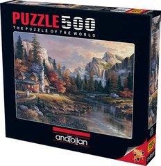 Puzzle Vadinin Sonundaki Ev. Home at Last 500 pcs