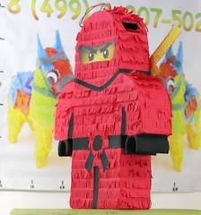 Пиньята Лего ниндзяго КАЙ -  мир-пиньята