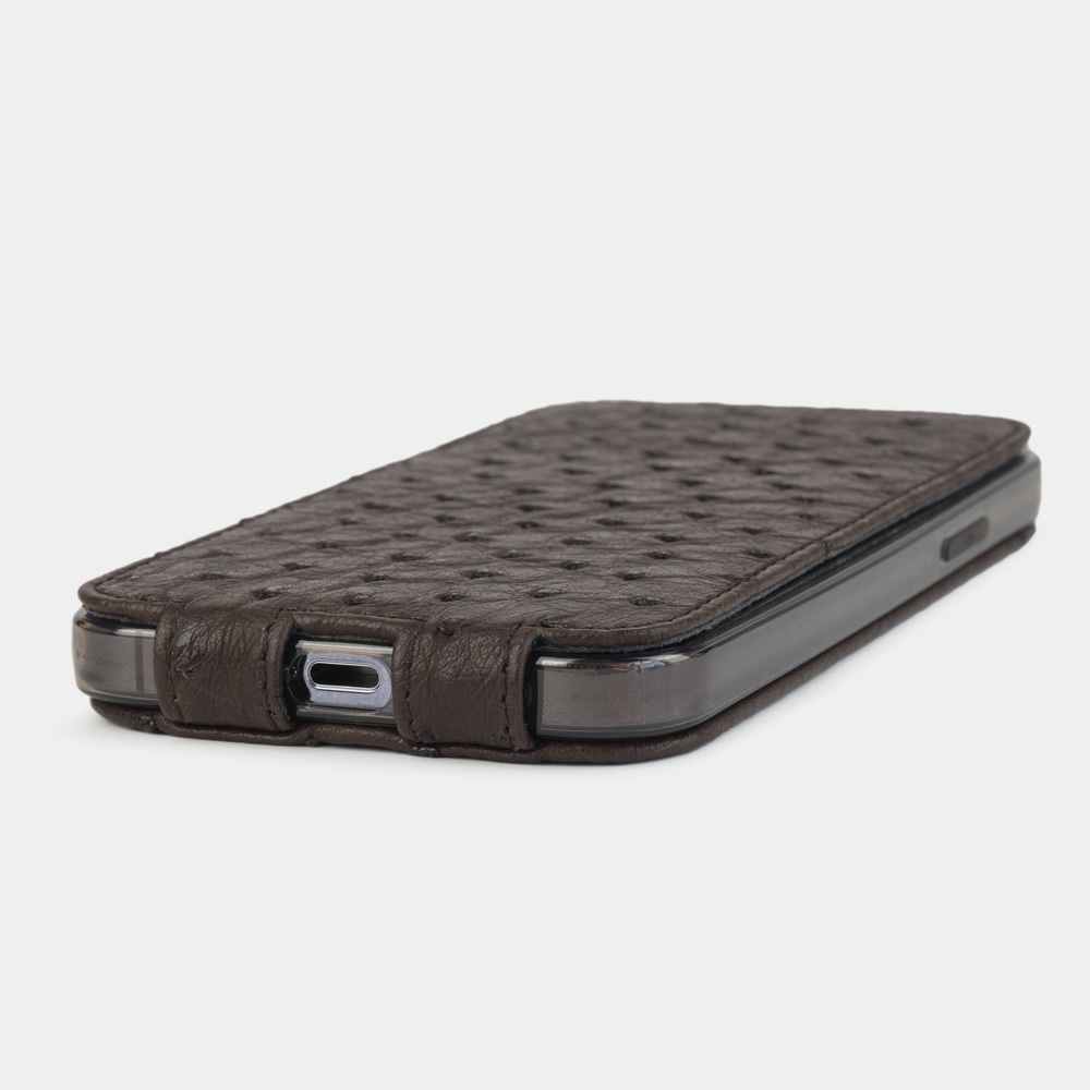 Case for iPhone 12 & 12 Pro - ostrich brown