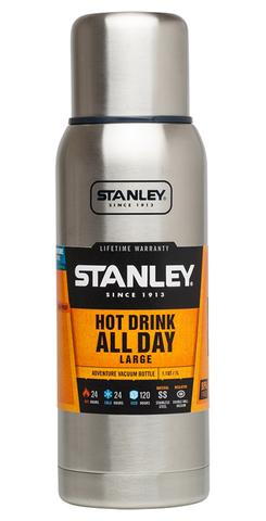 Картинка термос Stanley Adventure 1L Стальной - 1