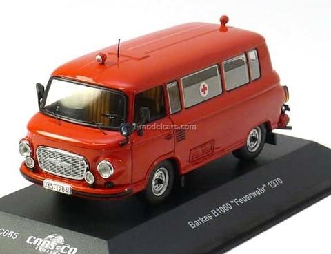 Barkas B1000 Feuerwher (Fire Engine) 1970 CCC065 IST Models 1:43