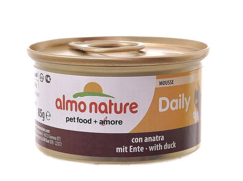 Консервы (банка) Almo Nature Daily Menu mousse with Duck