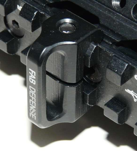 Антабка на планку Вивера / Пикатинни FAB Defense (SLA)