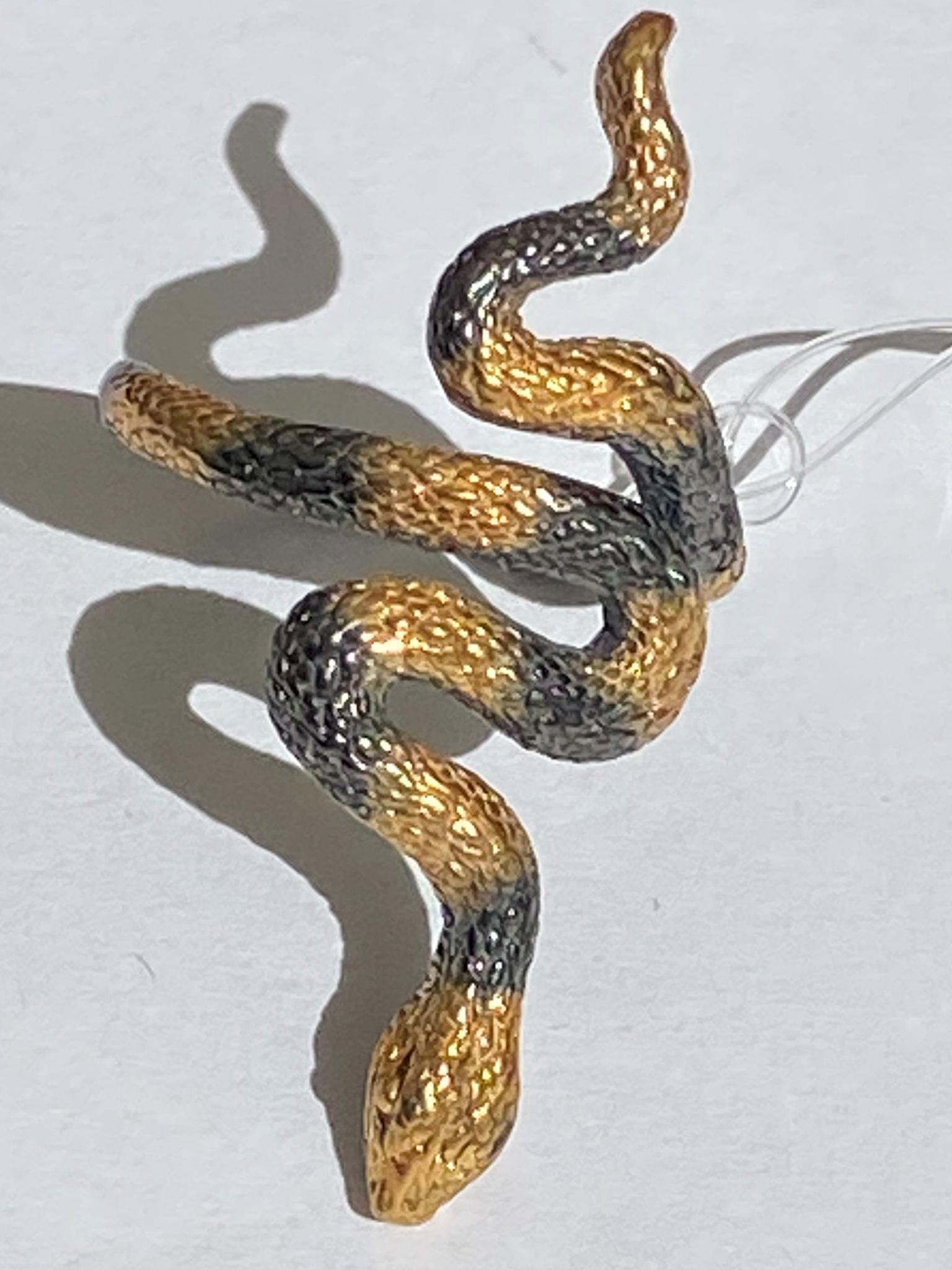 Анаконда (кольцо  из серебра)