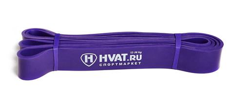 Купить фиолетовую резиновую петлю эспандер для тренировок и фитнеса 12 - 36 кг