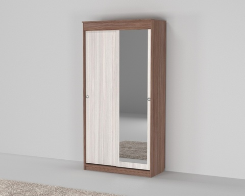 Шкаф СЕНТ-1 с зеркалом /1200*2200*583/ правый