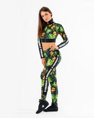 Лосины женские Nebbia High-waist performance leggings 567 SQ.green