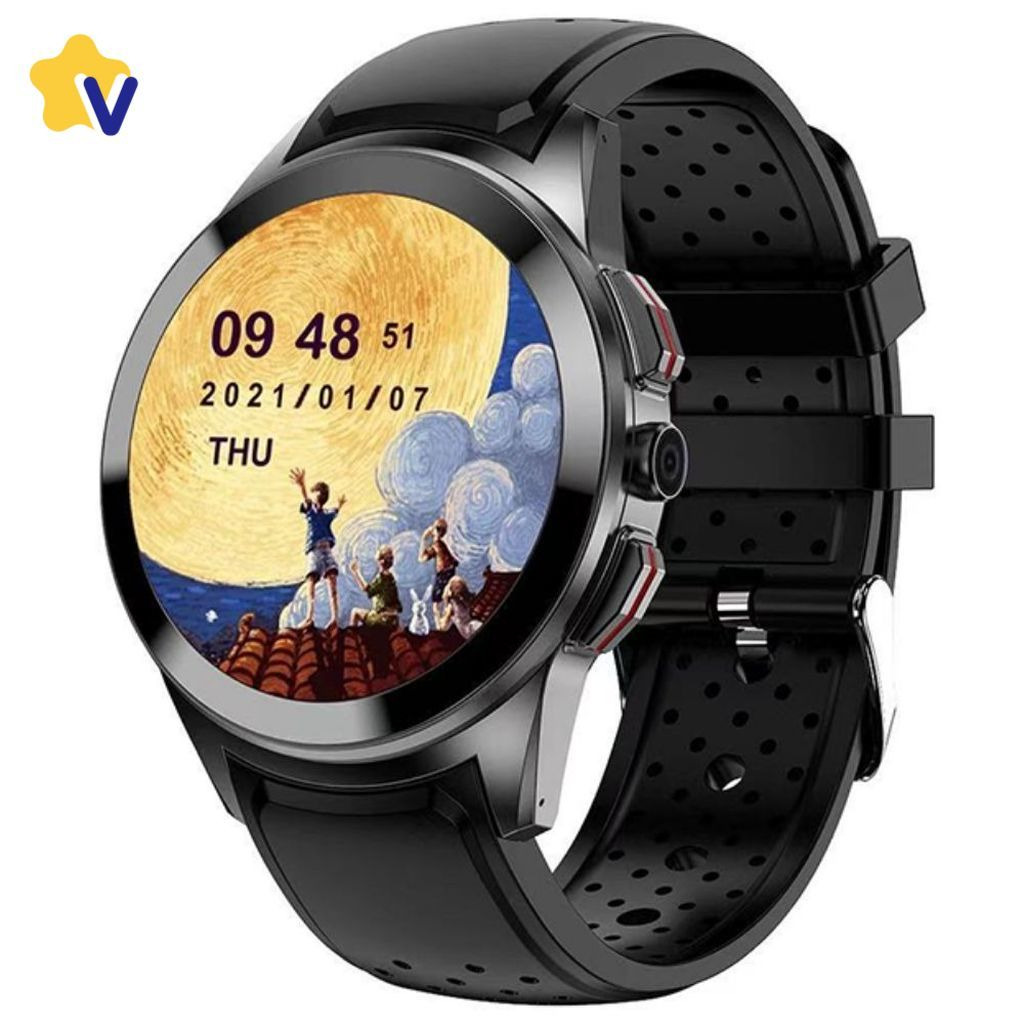 Смарт часы и браслеты KingWear LT10 смарт-часы (Play Market, SIM, GPS, WiFi, BT, SpO2, фитнес трекер, камера, плеер …) Star_square_KingWear_LT10_new__2_.jpg