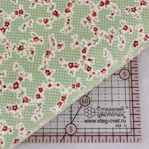 Ткань для пэчворка, хлопок 100% (арт. X0511)