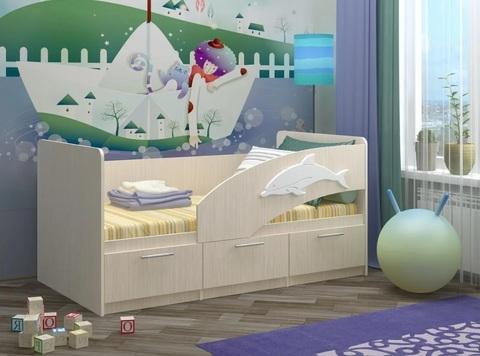 Детская кроватка Дельфин-5