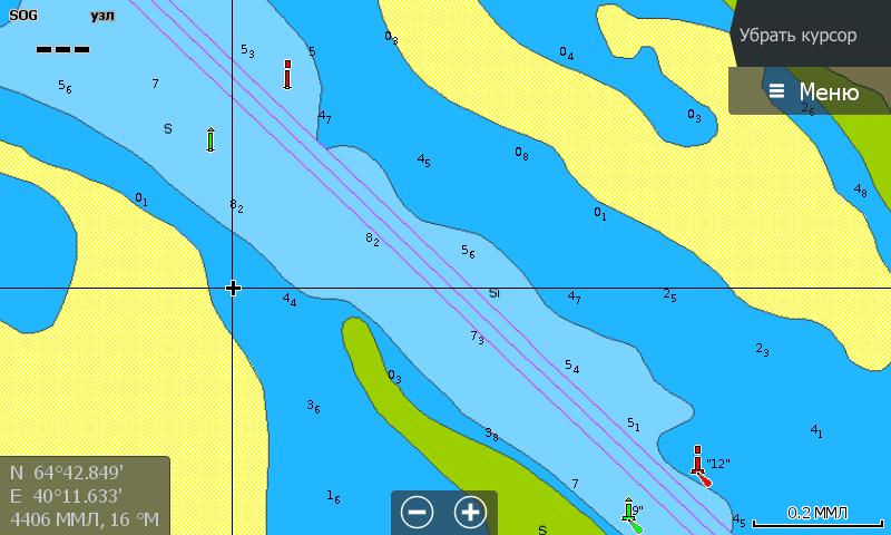 Navionics 5G874S Белое и Баренцево море устье Северной Двины