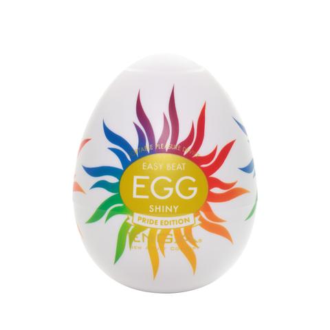 TENGA Egg Shiny Pride Edition Мастурбатор яйцо
