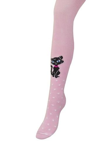 Колготки для девочки Мур-Мяу (розовый) Para socks