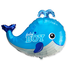 F Фигура, Кит голубой, baby boy, 26