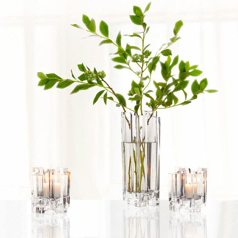 Купить вазу хрустальную для цветов 27.6 см, Hikari,Nachtmann