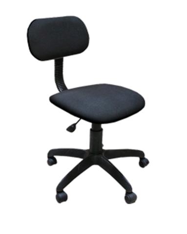 Кресло ЛИГА б/п газлифт ткань черная