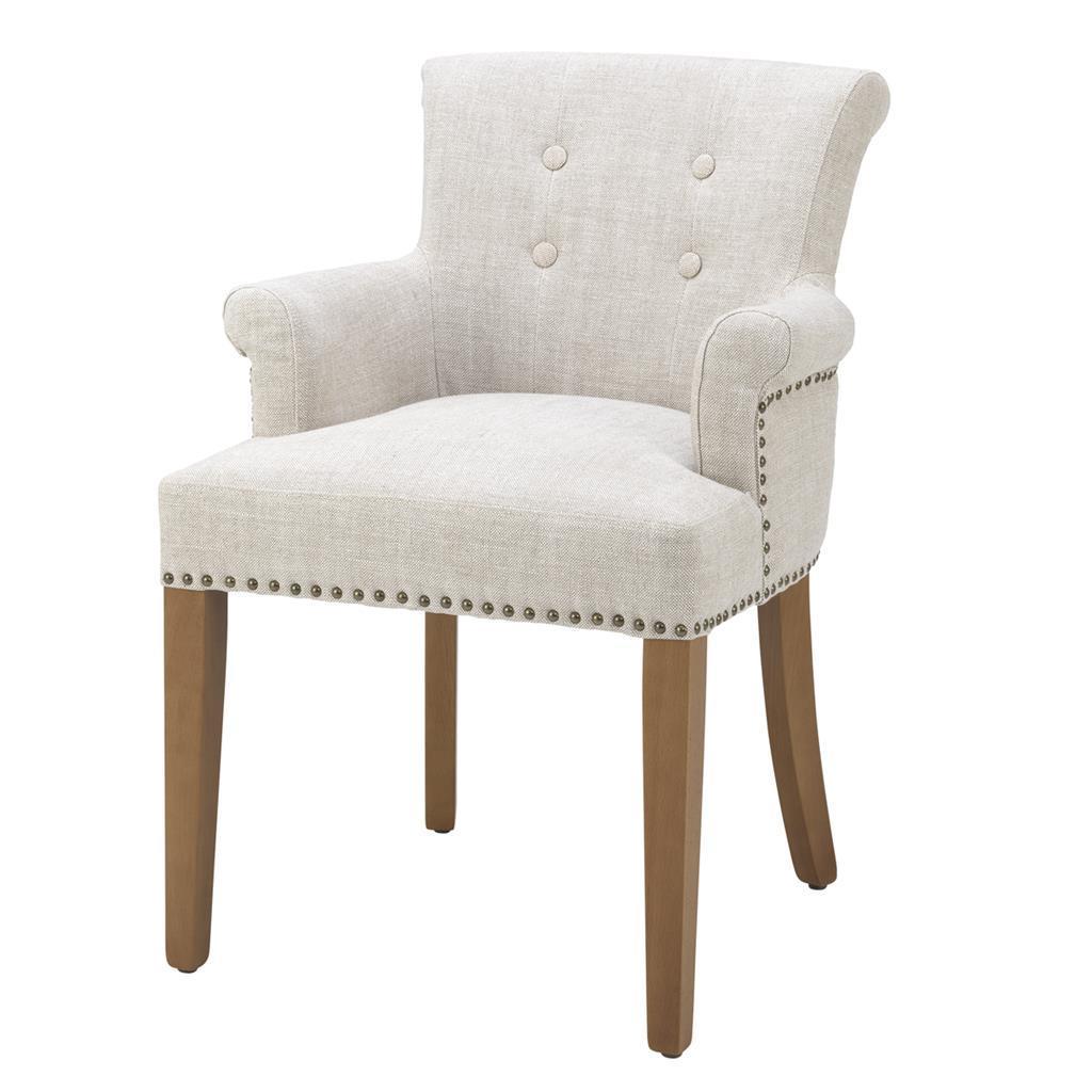 Обеденный стул Eichholtz 107632 Key Largo (с подлокотниками)